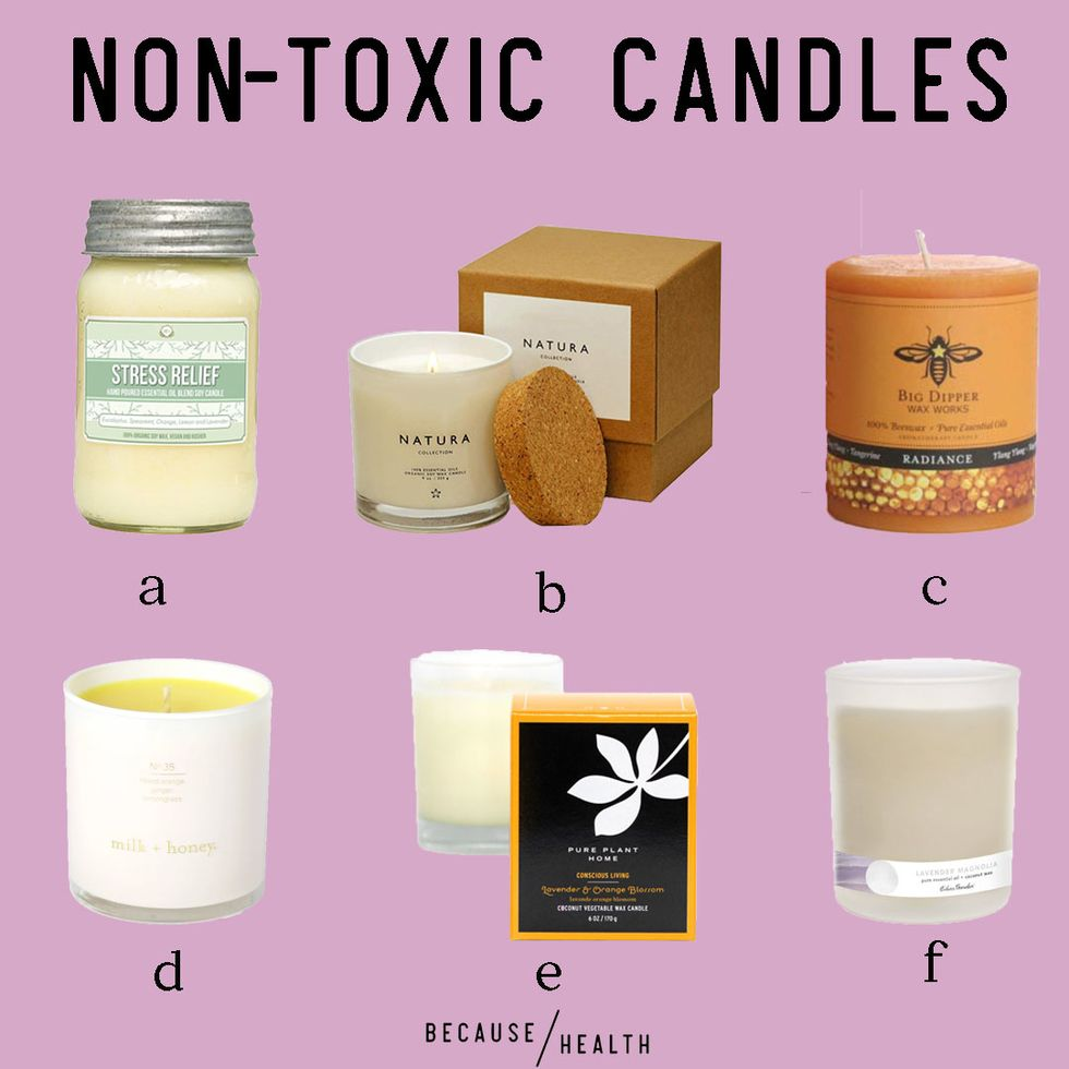 Non Toxic Candle Roundup Because Health